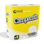 DESTACADO PAPELERÍA Hgienico Campanita 4x30